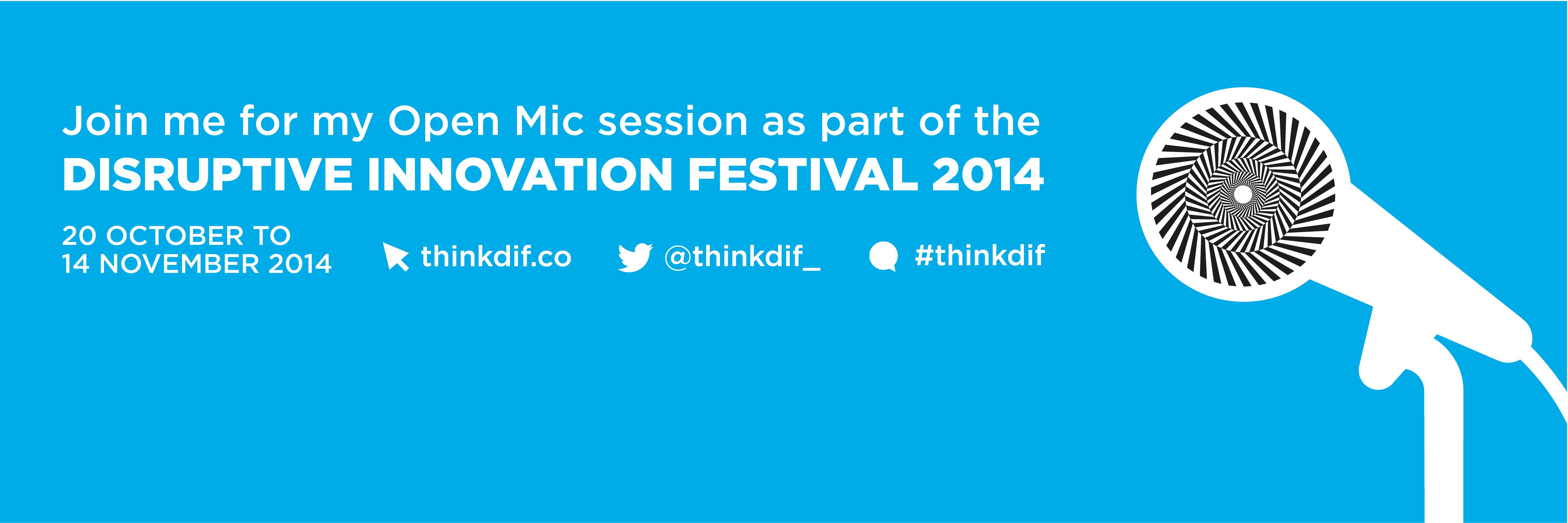 #ThinkDif Festival OpenMic Webinar